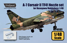 Wolfpack WP48163, A-7 Corsair II TF41 Engine Nozzle set (for Hasegawa,SCALE 1/48