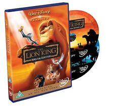 LION KING 2 Disc Edition DVD DISNEY ORIGINAL HOLOGRAM Animatd Cartoon Film Movie