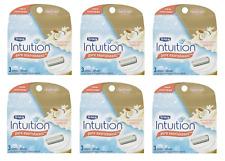 Schick Intuition Razor Blade Refills, Pure Nourishment  Dry Skin, 18 Cartridges