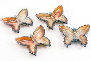 Carnival Glass Butterfly Dish Set