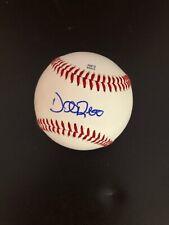 Autographed Dane De La Rosa Minor League Baseball