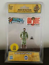 GI JOE World's Smallest Toy Miniature Man Of Action Retro 80's 3 Inches Tall