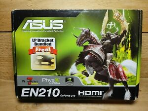 ASUS NVIDIA GeForce GT 210 512MB (EN210 SILENT) GPU Graphics in Box with CD