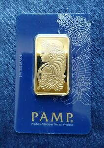 Lingot d'or - Gold Plated 24k - Pamp Suisse - Neuf