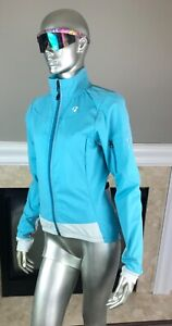 BONTRAGER Women's RXL 180 SOFTSHELL Cycling JACKET IN Sky BLUE M 🚲