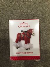 Brand New Hallmark 2013 A Pony For Christmas 16th In Series