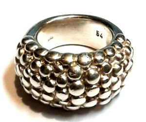 Massiver MARC O´POLO  Ring  925 Sterling Silber RG 54 ca. 17,5mm