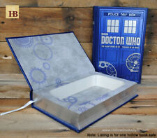 Hollow Book Safe - Dr. Who Tardis - Leather Bound Book Safe