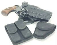 SAFARILAND HOLSTER & DON HUME DBL. MAG CASE LOT!