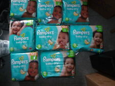 LOT OF 368 KIDS DIAPERS PAMPERS - SIZES AS IT IS - PICK UP ONLY BERGEN COUNTY NJ
