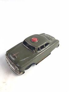 Vintage U.S. Army Staff Car, Friction, Tin Litho, S-1753