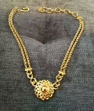 Vintage GIVENCHY Gold Tone Necklace