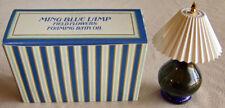 """Vintage Avon """"Ming Blue Lamp"""" Field Flowers Foaming Bath Oil Full 5 fl. oz. New!"""