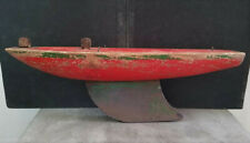 """Vintage Wooden Pond Sail Boat - """"Star Yacht"""" by Birkenhead Made in England 14"""""""