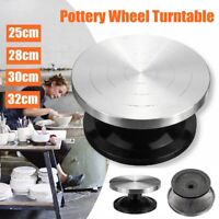 METAL POTTERY BANDING WHEEL POTTERS TURNTABLE FOR CLAY MODELLING 250mm 280mm