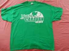 Marlins Caravan For Earth - Green T-Shirt - 2XL - Pre-Owned