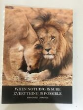 2018 - 2019 financial year diary Lion With Possible QUOTE A5