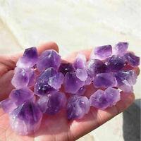 Rare Natural Amethyst Purple Quartz Point Crystal Cluster Healing Specimen