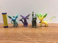 Pokemon Go figure Eeveelution Set Of  Espreon Umbreon Leafeon Glaceon In U.S