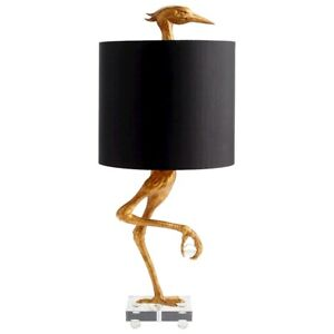 Cyan Design Ibis Table Lamp, Ancient Gold - 05206