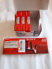 5 St. Sony miniDV DVM 60 Digital Videocassette 60 Min Kassette