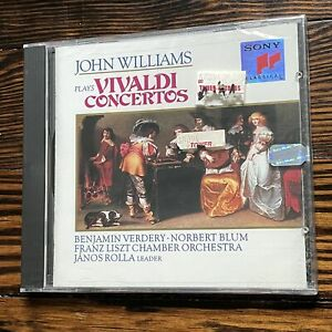 Vivaldi: Concertos (NEW) (Sony) - John Williams; Antonio Vivaldi [Composer]; J..