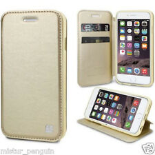 Apple IPHONE 6 CHAMPAGNE Leather TPU Wallet Cell Phone Flip Case Stand Holder