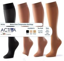 Activa Unten Kniebandage Strümpfe Krampfadern Zirkulation Kompression Socke