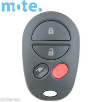 Compatible With Toyota Kluger Aurion Remote Car Key 4 Button Shell/Case