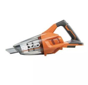 RIDGID R860902B 18-Volt Portable Cordless Hand Vacuum (No Attachments)