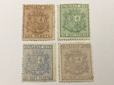 old stamps  CARIBBEAN     x  4  1875