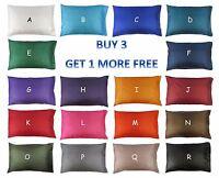 Queen (50x75cm): Silk Pillow Case / Cover / Slip Bedding Cushion Home & Travel