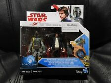 Star Wars The Last Jedi 3 3/4-Inch - 2-Packs Wave 1 - Han Solo and Boba Fett