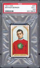 1911-12 C55 Imperial Tobacco #37 Arthur Bernier PSA 5.5 Excellent+