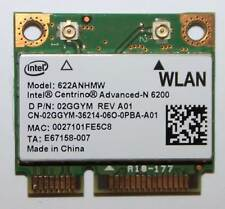 DELL 2GGYM, LATITUDE E6410 E4310, WIRELESS WIFI CARD, 6200 2GGYM 02GGYM, INTEL