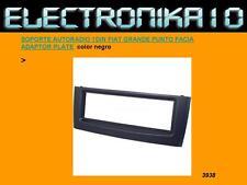SOPORTE AUTORADIO 1DIN FIAT GRANDE PUNTO adaptador radio color negro