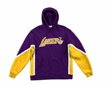 Mitchell And Ness Final Seconds Fleece Hoodie Los Angeles Lakers New