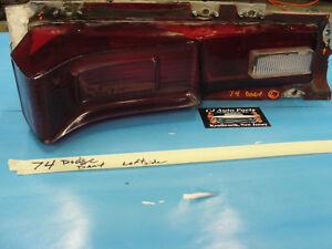 74 Dodge Dart Swinger LEFT DRIVER SIDE TAIL LIGHT TAILLIGHT BACKUP REVERSE LENS