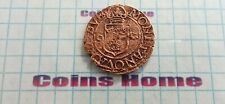 Coins Home circulated 1597(?) SWEDEN 1/2 ore Lot#766069 Uncertified Ungraded