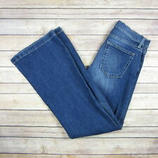 GAP 1969 Women's Authentic Flare Jeans SIZE 26S Short Medium Wash