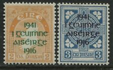 Ireland 1941 Rebellion overprint on 2d & 3d mint o.g.