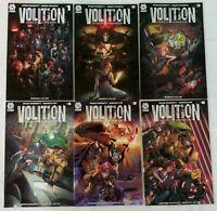 Aftershock-Volition #1-6 Complete Series 1st Prints-Ryan Parrott