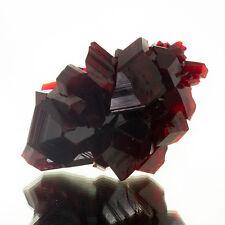"""6.2"""" Gemmy Rhodo Red PRUSKITE WetLook RazorSharp Crystals to2.7"""" Poland for sale"""