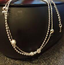 Silver Anklet Ball Design