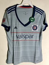 Adidas Women's MLS Jersey Chicago Fire Team Grey sz L