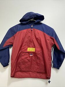 Vtg Adidas 1999 Womens World Cup Rain Jacket Large FIFA Soccer Windbreaker POUCH