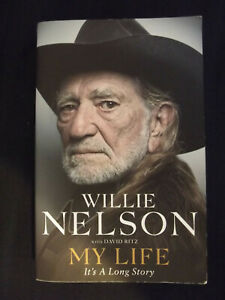 Willie Nelson autobiography book: My Life - It's A Long Story with David Ritz