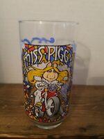 Vintage 1981 McDonalds The Great Muppet Caper Glass Jim Henson Miss Piggy  A2