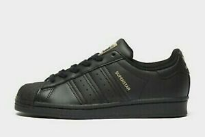 adidas Superstar W Women's Black Trainers Sneakers Shoes H05024 Multiple Sizes