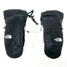 The North Face Youth Rugged HyVent Black Mittens Gloves Ski Hiking Size Large